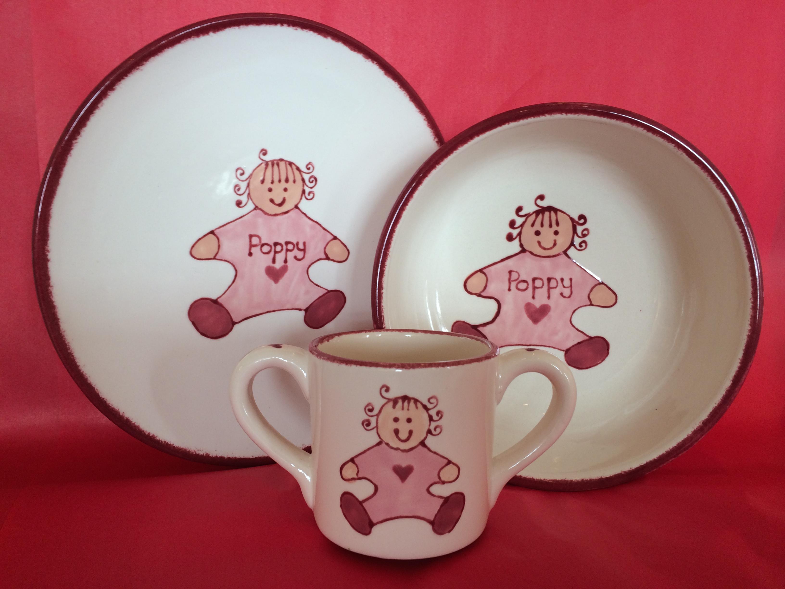 Baby Set - poppy 3